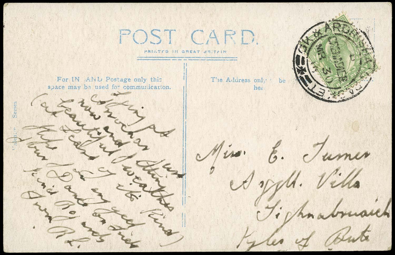 GB 1910  SG217 Cover