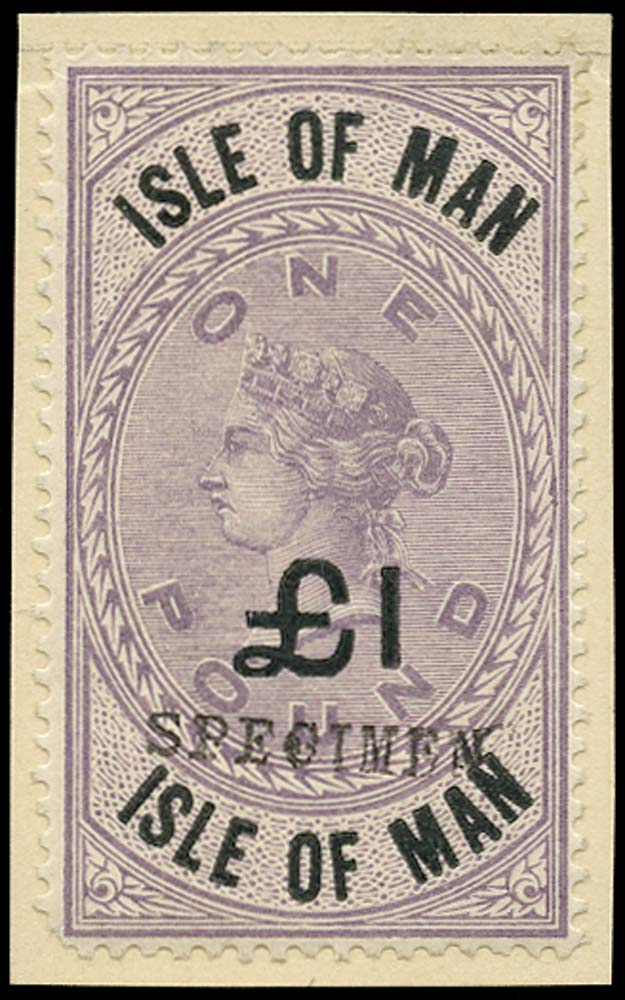 GB 1894 Revenue - £1 Isle of Man