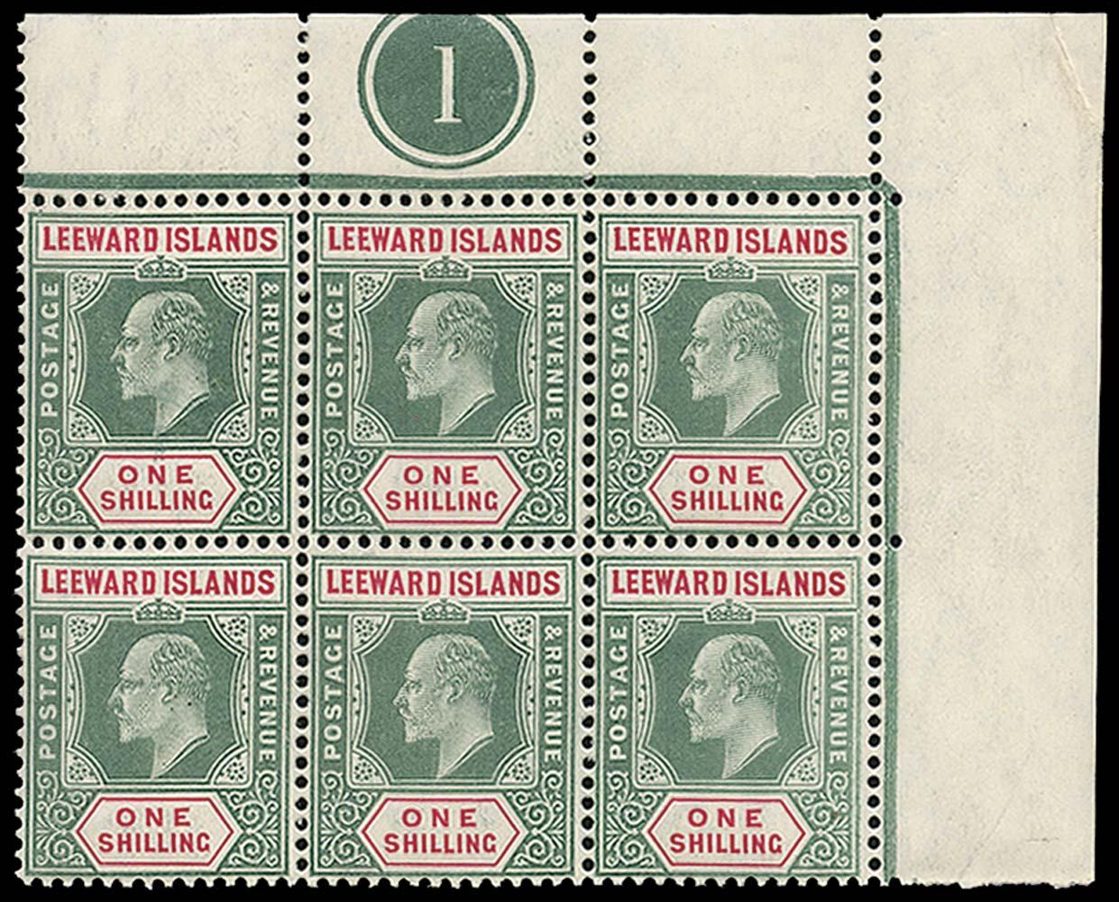 LEEWARD ISLANDS 1905  SG35 Mint