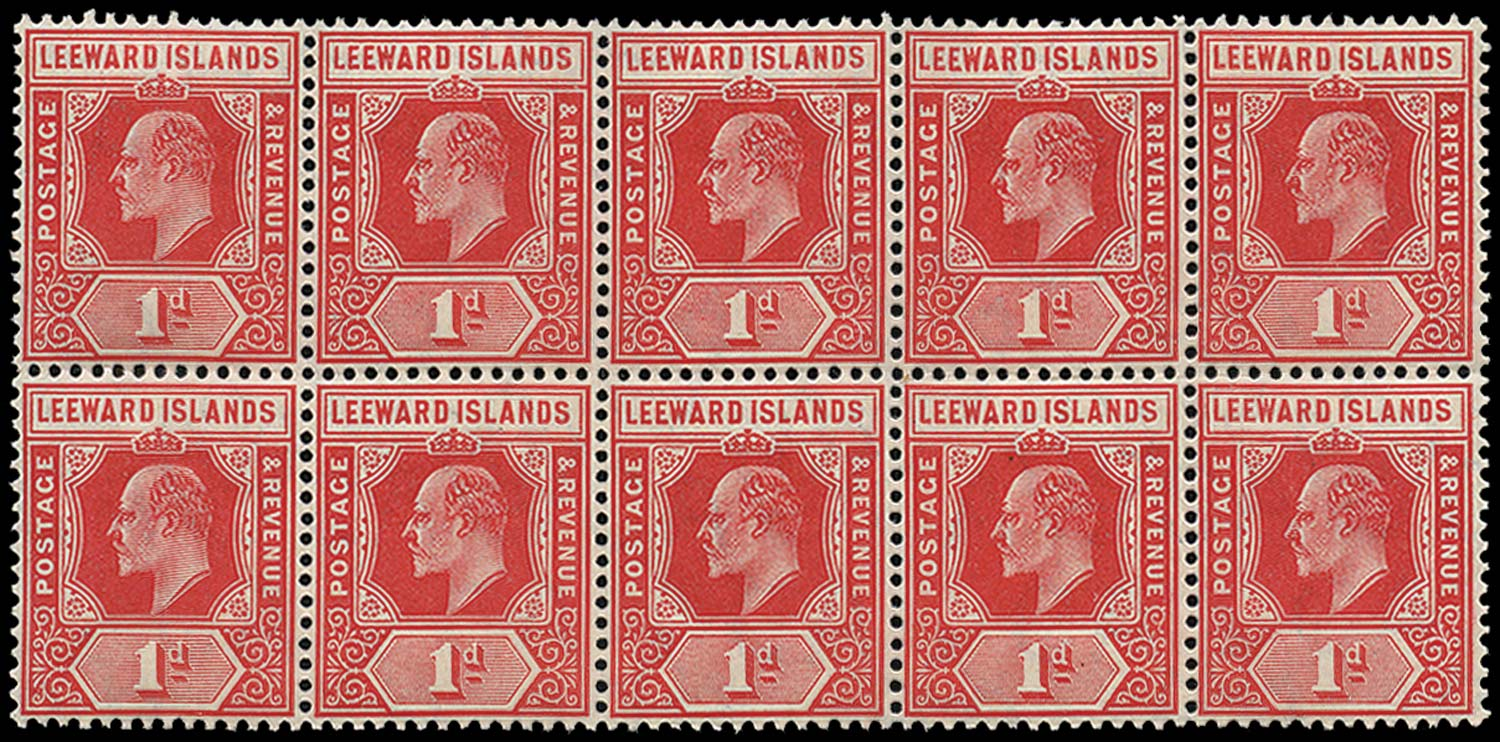 LEEWARD ISLANDS 1907  SG38 Mint
