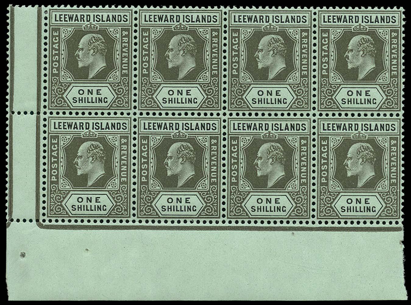 LEEWARD ISLANDS 1907  SG43 Mint