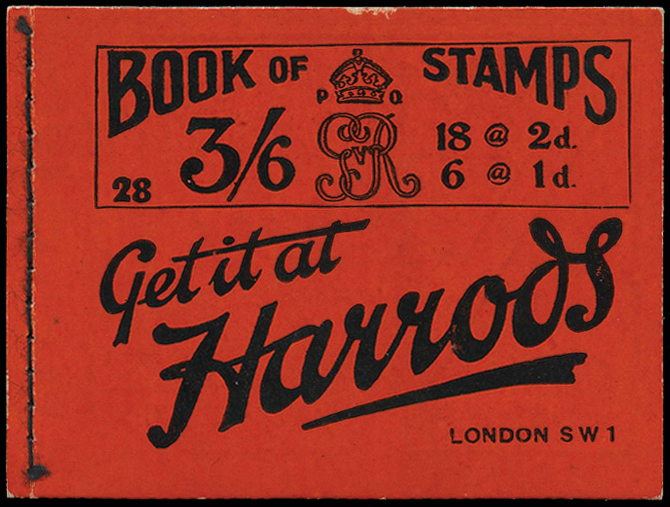 GB 1920  SGBB30 Booklet (Edition 28)