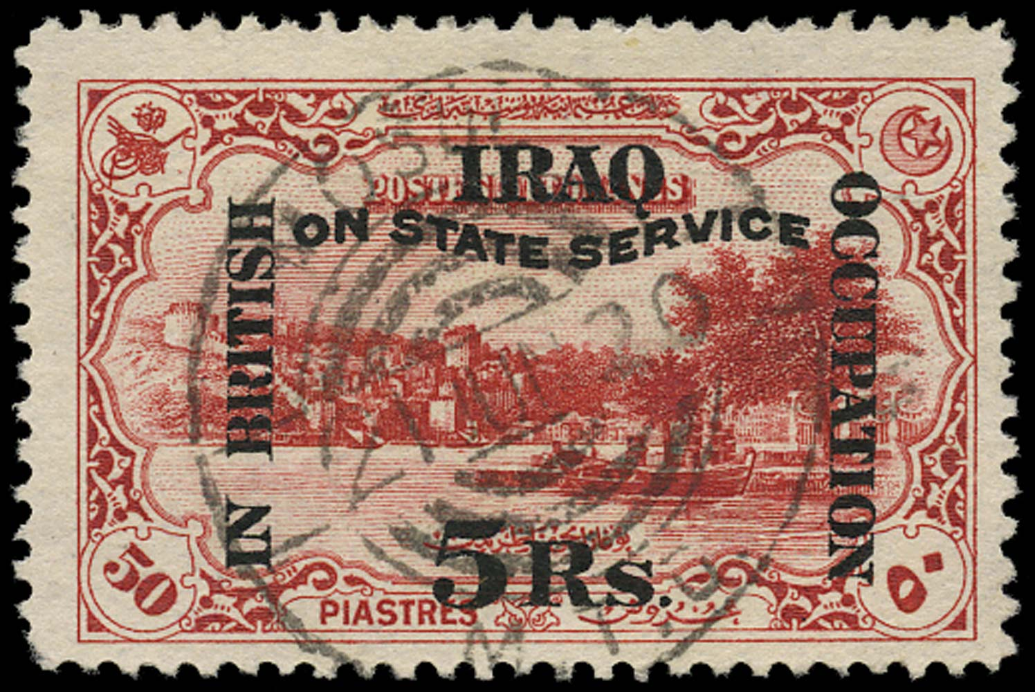 IRAQ BRIT OCC 1920  SGO30 Official