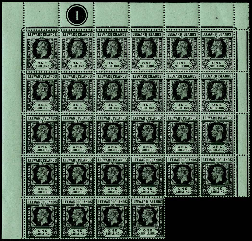 LEEWARD ISLANDS 1912  SG54 Mint