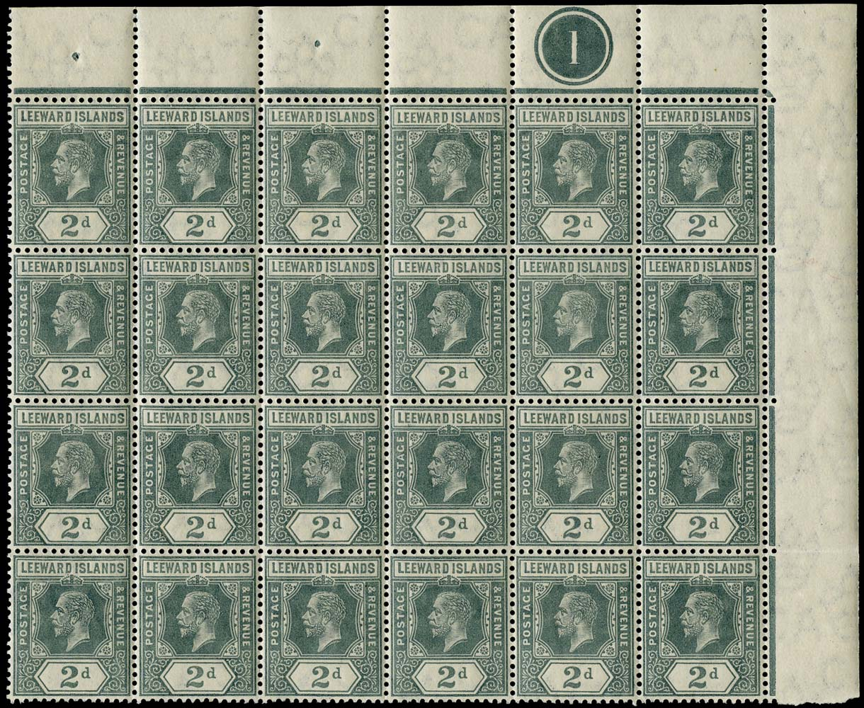 LEEWARD ISLANDS 1912  SG49 Mint