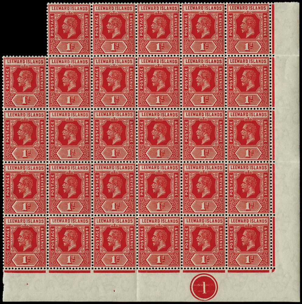 LEEWARD ISLANDS 1912  SG48 Mint