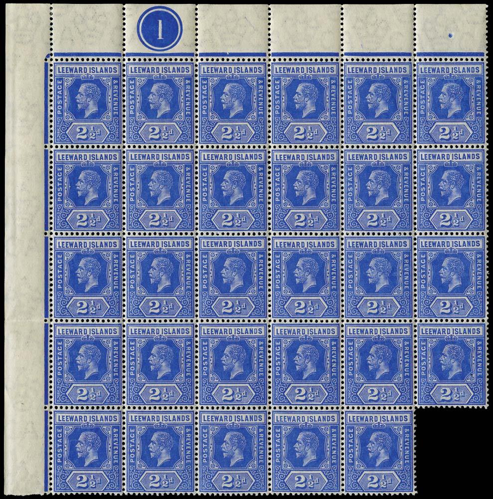 LEEWARD ISLANDS 1912  SG50 Mint