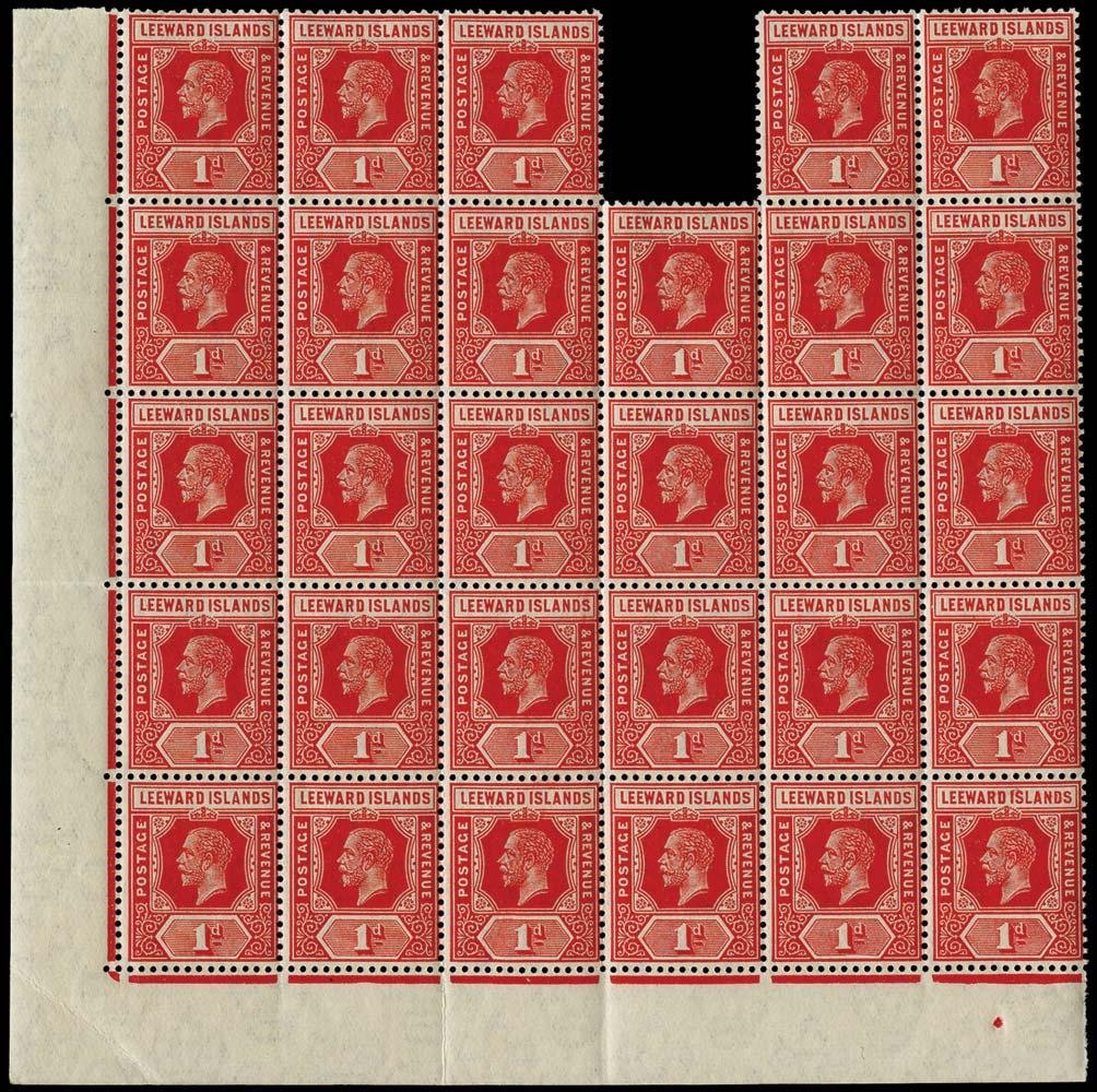LEEWARD ISLANDS 1912  SG48 Mint