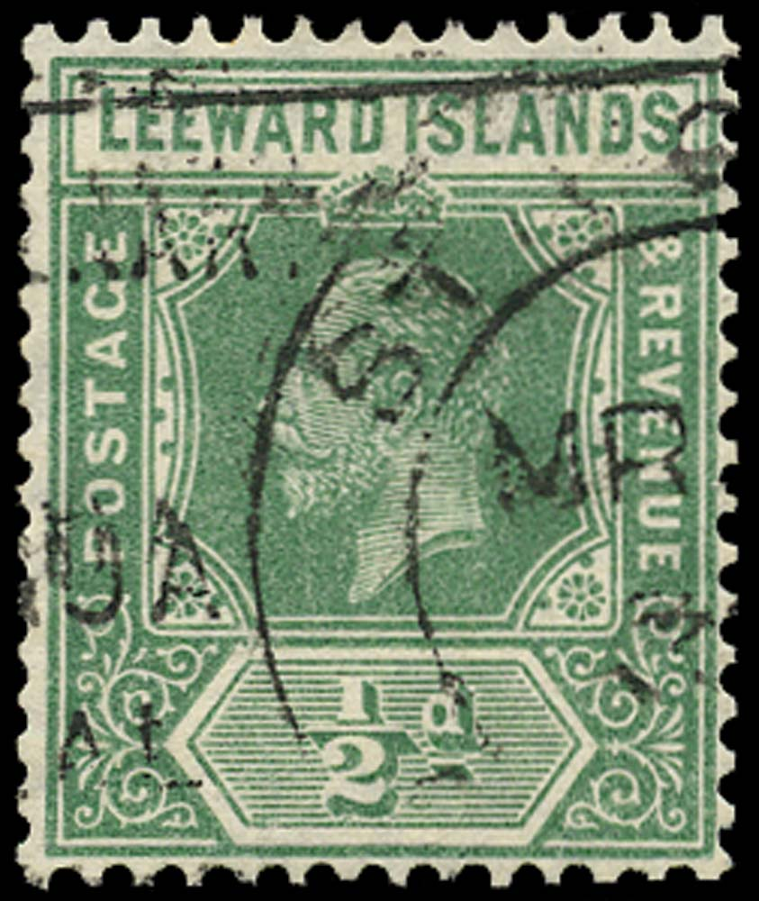 LEEWARD ISLANDS 1921  SG82 Used
