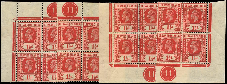 LEEWARD ISLANDS 1921  SG63 Mint