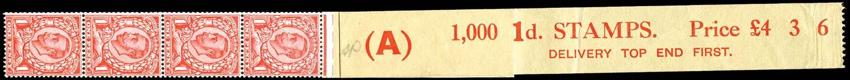 GB 1912  SG341a Mint - Coil leader (Code A)