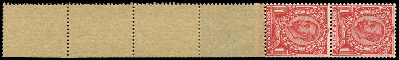GB 1912  SG345 Mint - Coil tail