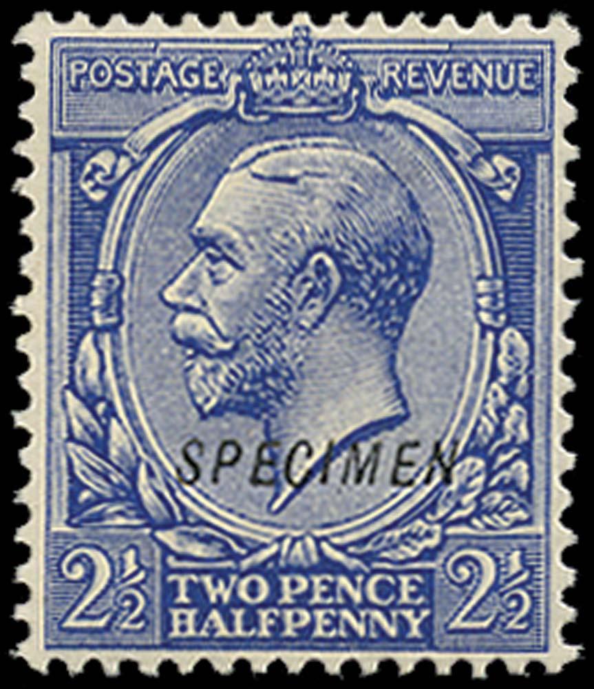 GB 1912  SG372s Specimen type 23
