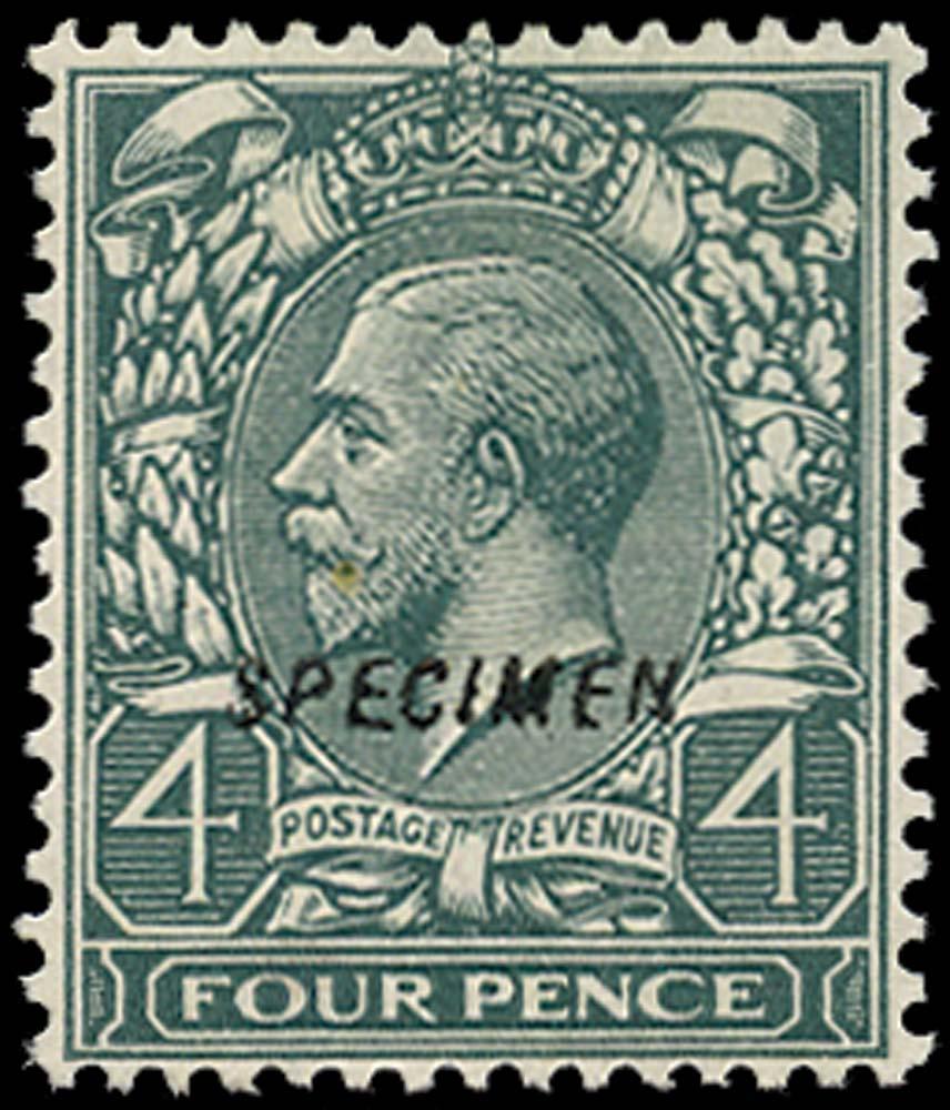 GB 1913  SG379s Specimen type 23