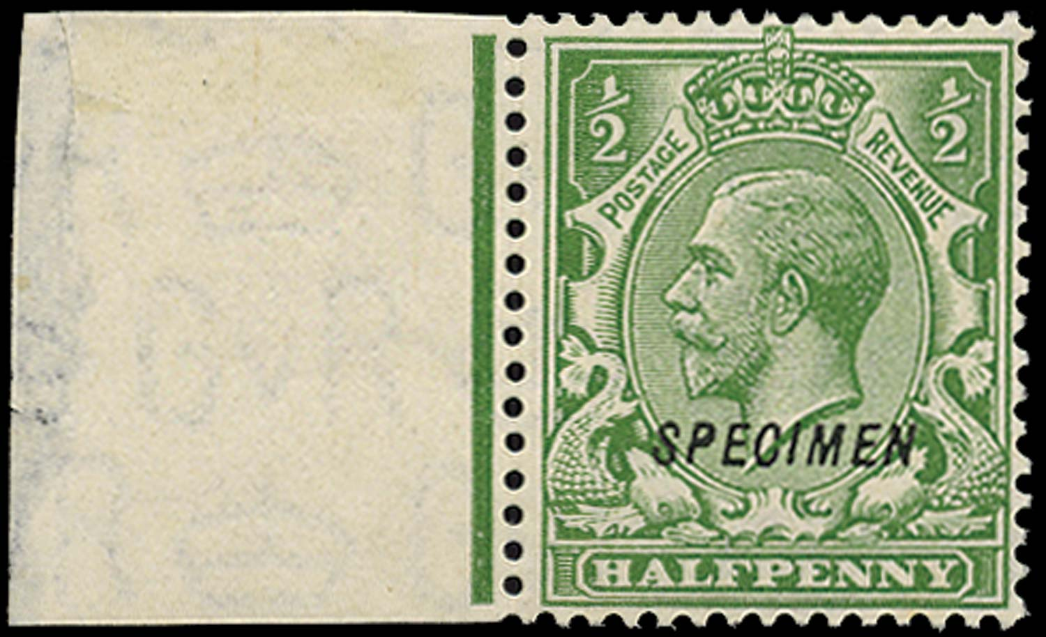 GB 1924  SG418s Specimen type 23