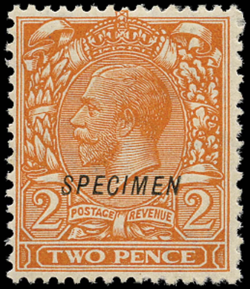 GB 1924  SG421s Specimen type 23