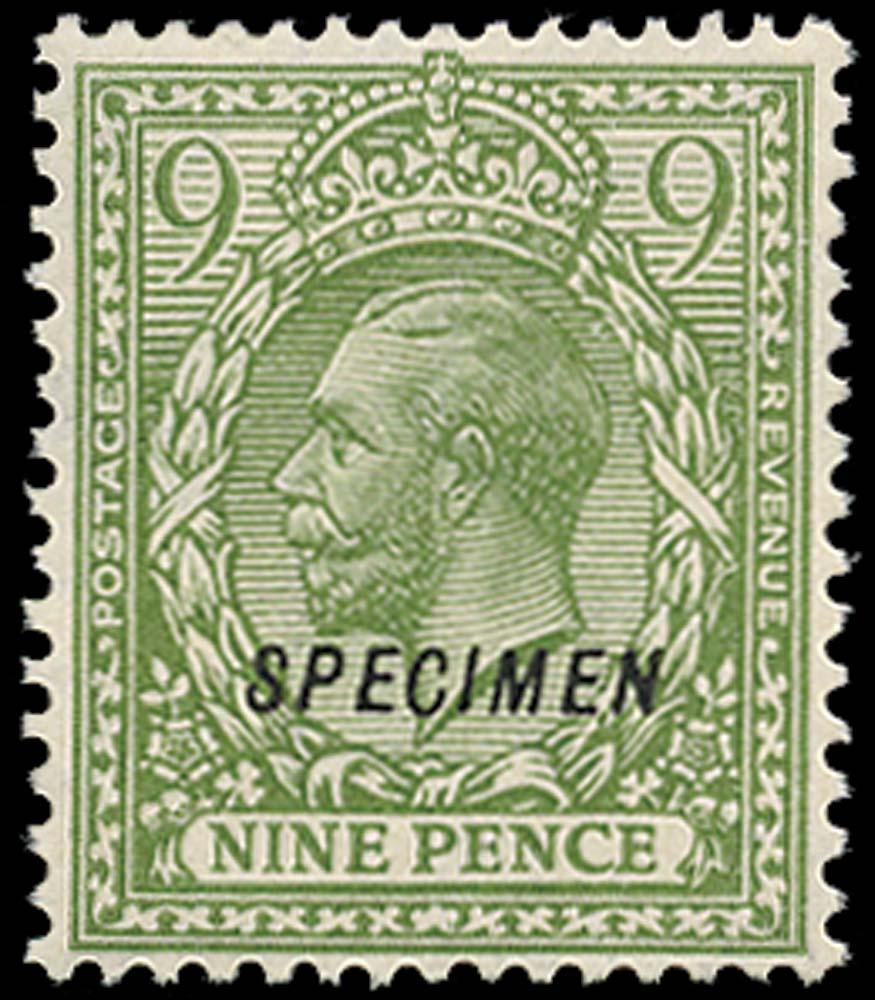 GB 1924  SG427s Specimen type 23