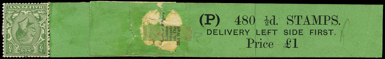 GB 1927  SG418a Mint - Coil leader (Code P)