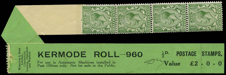 GB 1924  SG418 Mint - Kermode Coil leader