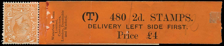 GB 1927  SG421b Mint - Coil leader (Code L)