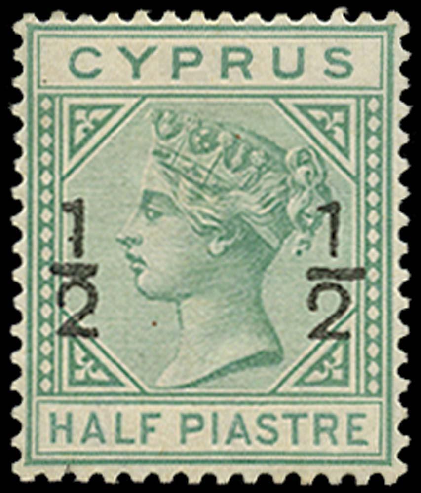 CYPRUS 1882  SG23c Mint