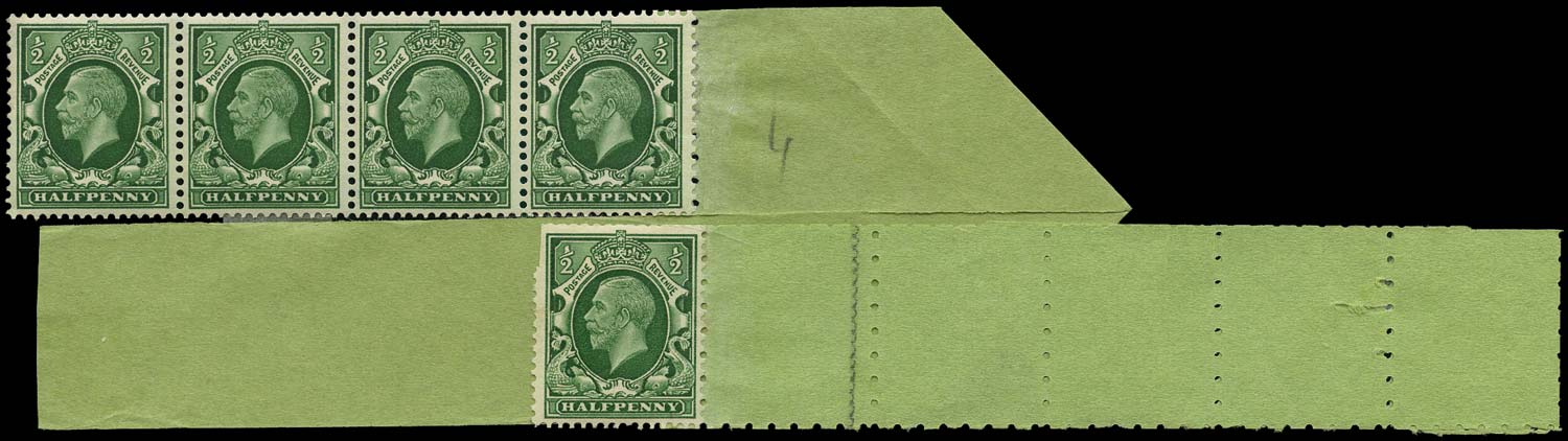 GB 1935  SG439a Mint - Coil tails (Code P)