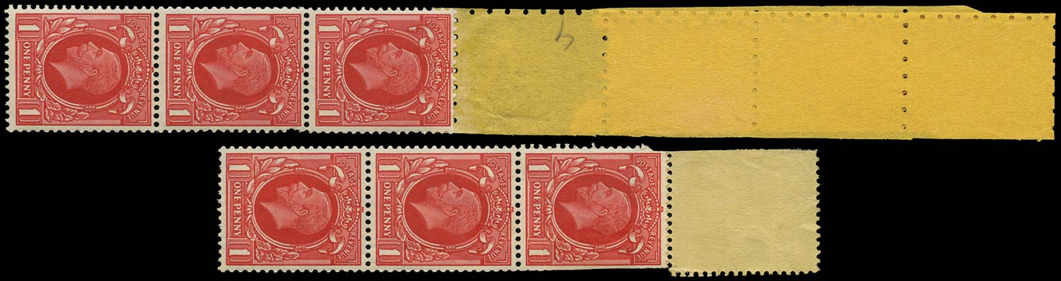 GB 1935  SG440 Mint - Coil tails