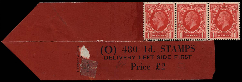 GB 1935  SG440cwi Mint - Coil leader (Code O) Wmk. Sideways-inverted