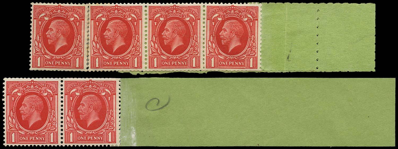GB 1935  SG440c Mint - Coil tails (Code O) Wmk. Sideways