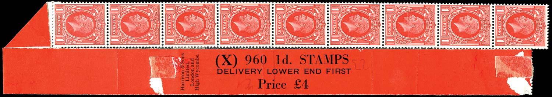 GB 1935  SG440 Mint - Coil leader (Code X)