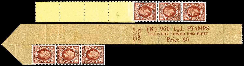 GB 1935  SG441 Mint - Coil leader (Code K)