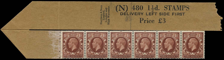 GB 1935  SG441d Mint - Coil leader (Code N)