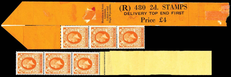GB 1935  SG442 Mint - Coil leader (Code R)
