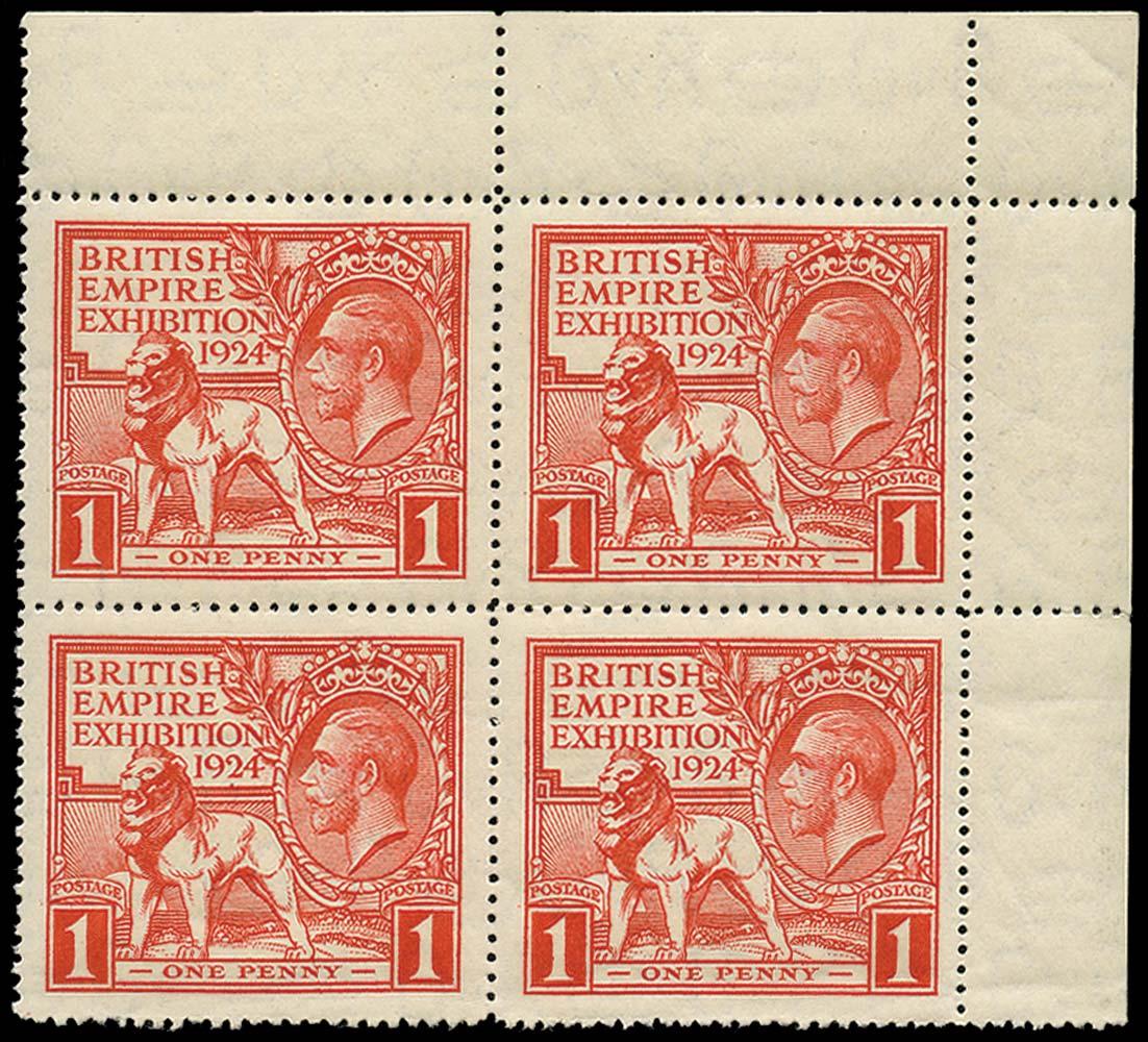 GB 1924  SG430b Mint