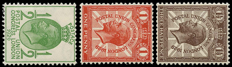 GB 1929  SG434/6a Mint