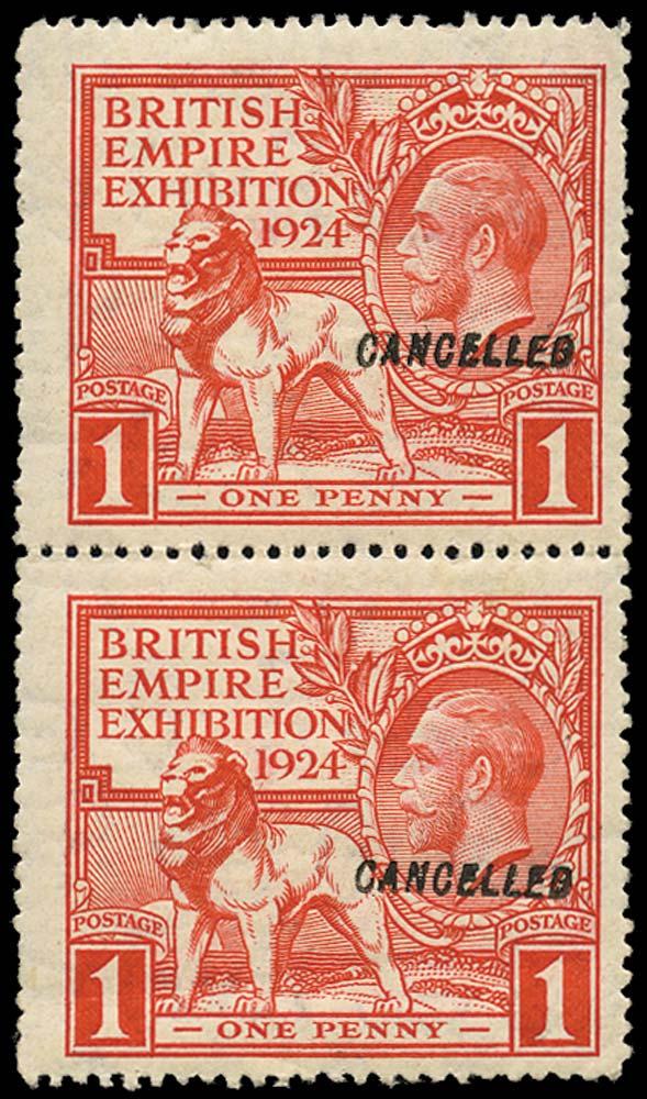 GB 1924  SG430var Mint