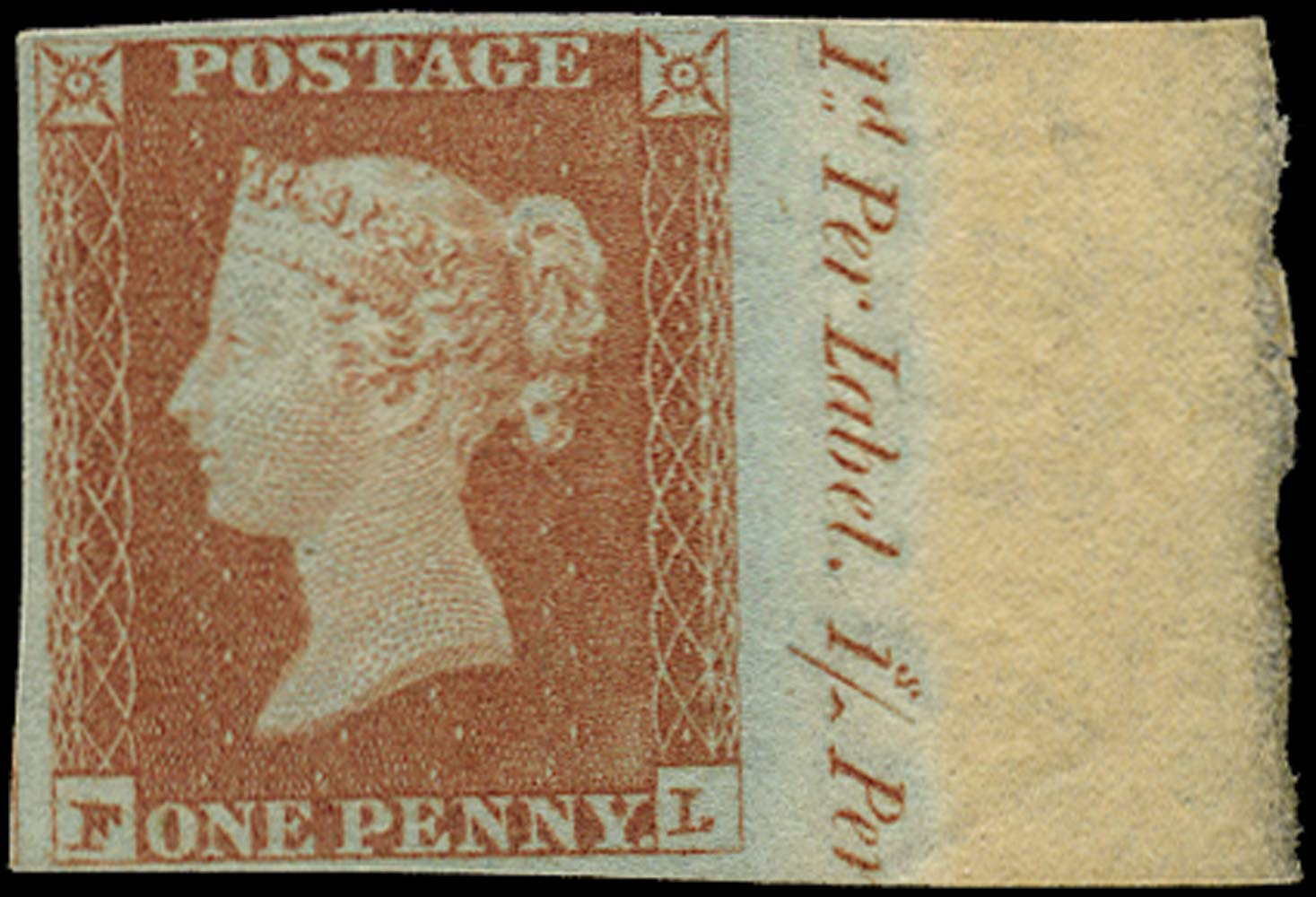 GB 1841  SG8 Pl.79 Mint