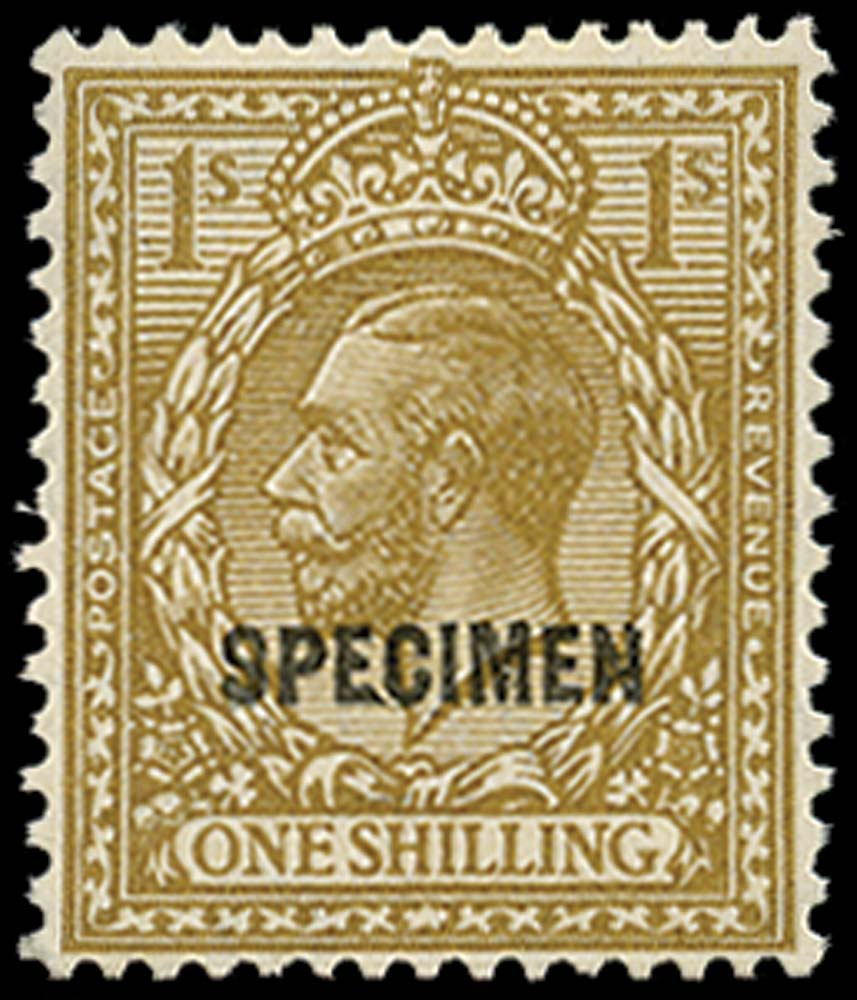 GB 1924  SG429s Specimen type 32
