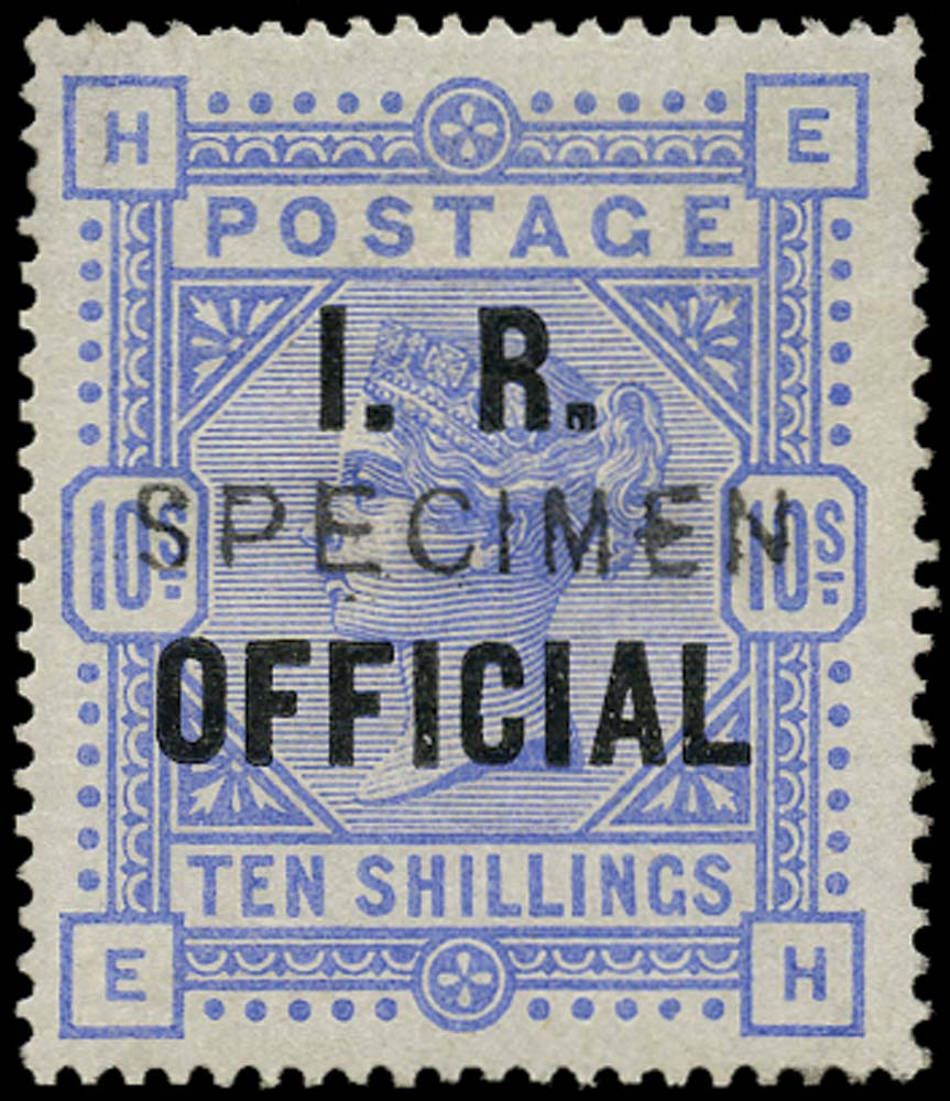 GB 1885  SGO9cs Specimen type 11