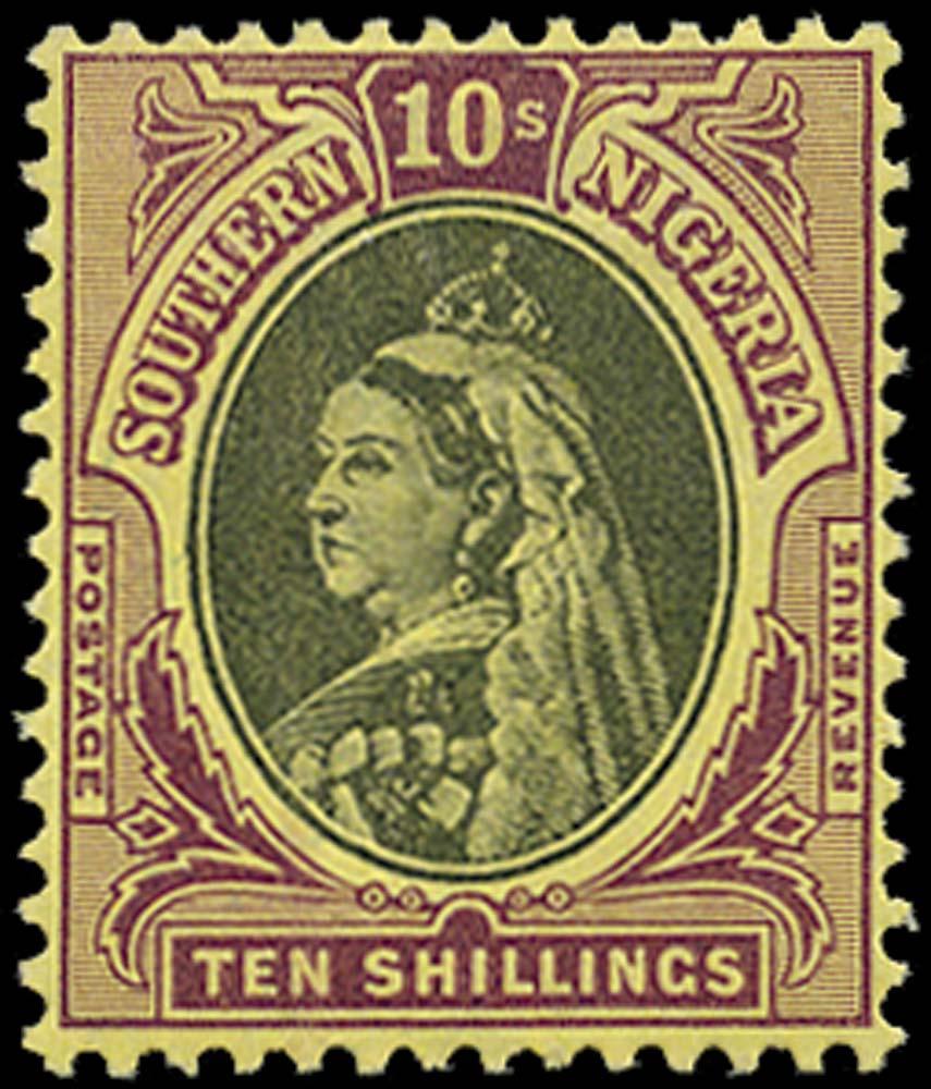 SOUTHERN NIGERIA 1901  SG9 Mint