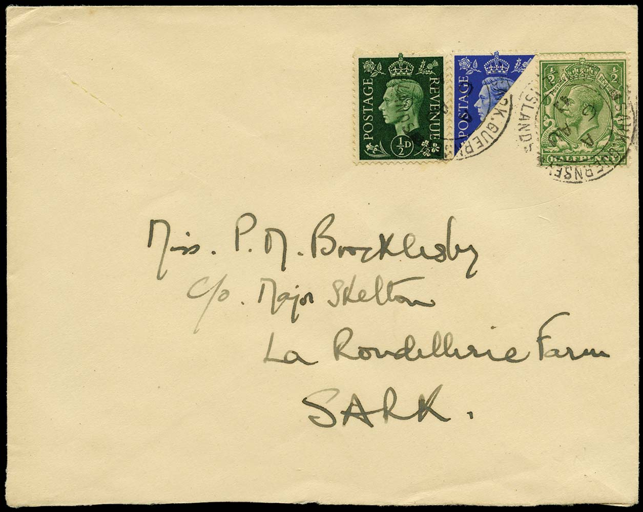 GB 1941  SG418,462,466 Cover