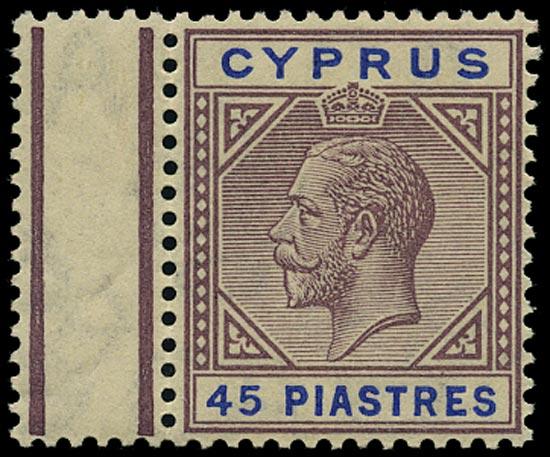 CYPRUS 1912  SG84 Mint