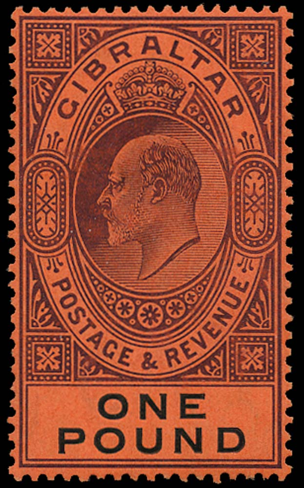 GIBRALTAR 1904  SG64 Mint