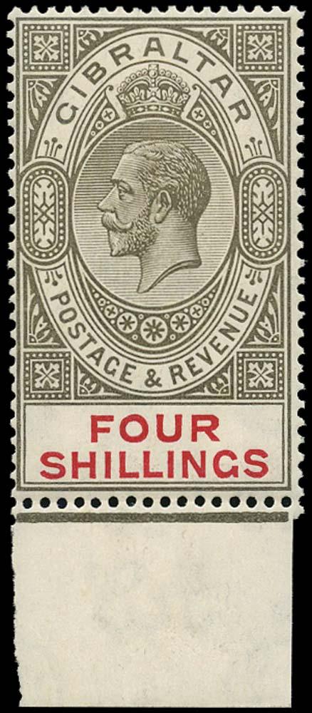 GIBRALTAR 1921  SG100 Mint