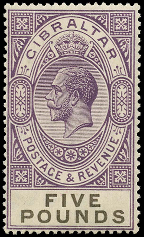 GIBRALTAR 1925  SG108 Mint