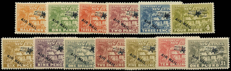 NEW GUINEA 1931  SG137/49 Mint