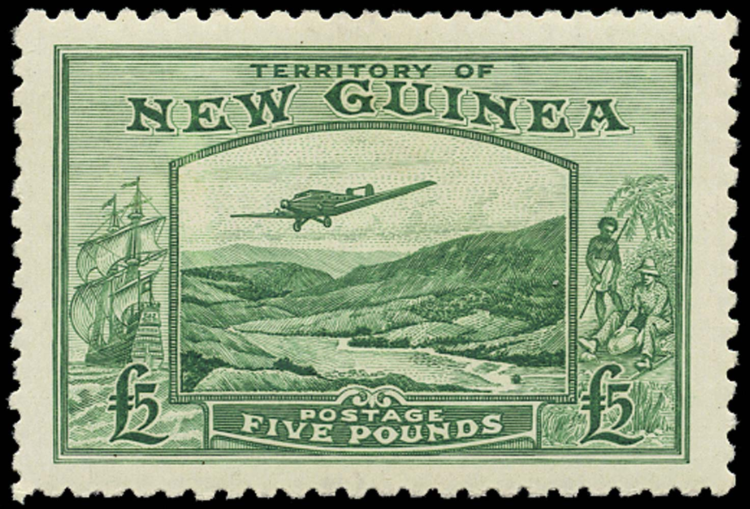 NEW GUINEA 1935  SG205 Mint