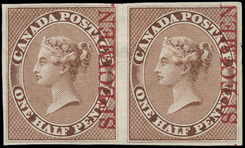 CANADA 1857 Proof