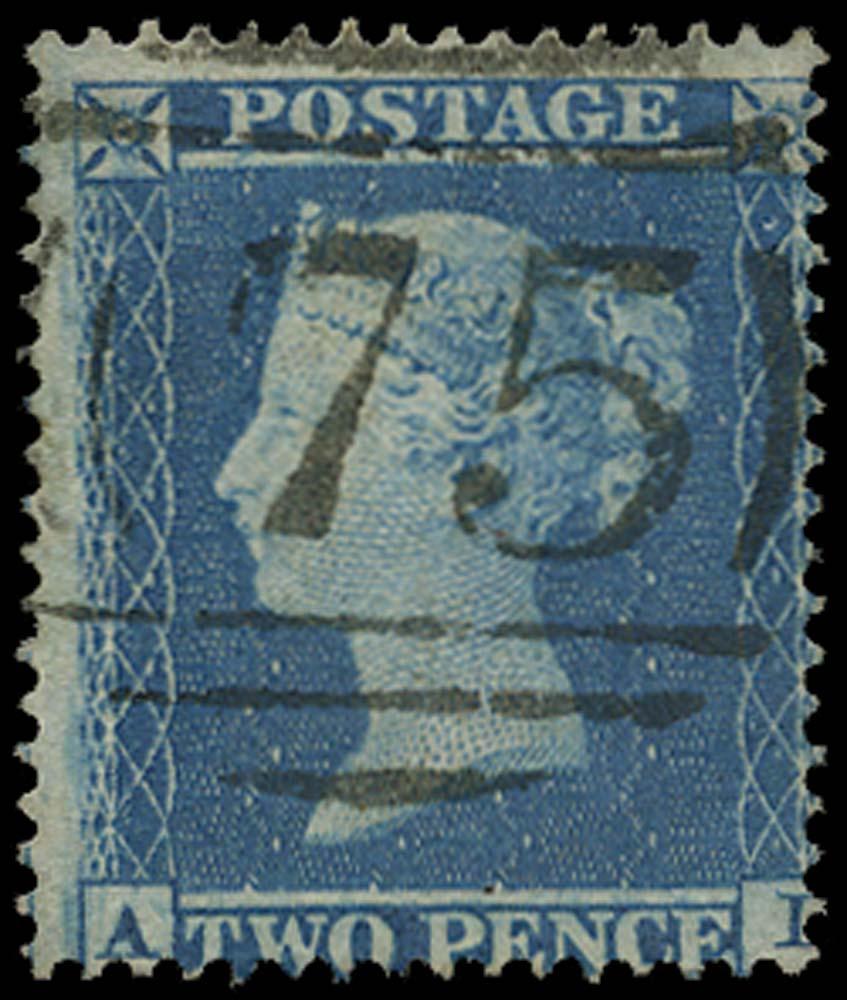 GB 1855  SG20a Pl.5 Used Birmingham