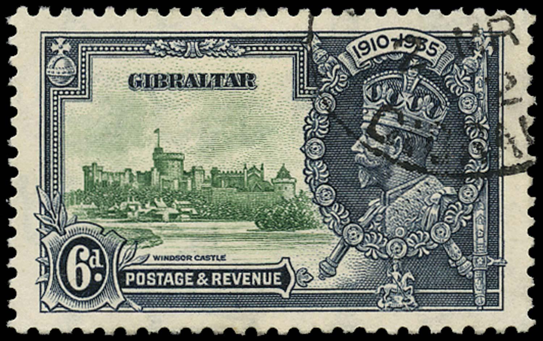 GIBRALTAR 1935  SG116b Used